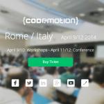 Codemotion Roma 2014